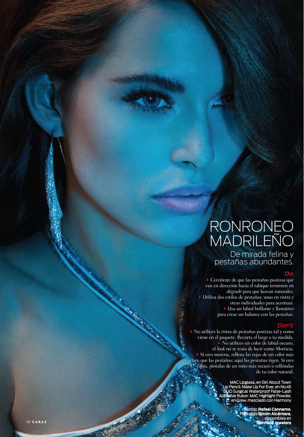 CARAS PUERTO RICO SEPT 2012. RONROEO MADRILEÑO STORY.SIMON ALCANTARA COSMIC SAMURAI STERLING SILVER CHAIN FRINGE HAND WOVEN EARINGS. $850.00 To purchase please use the Contact Us PAGE.