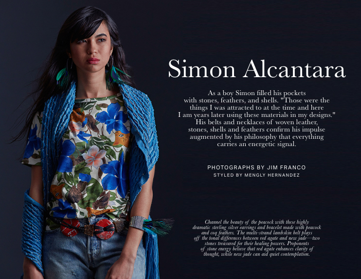 The exhibition of Simon Alantara's limited edition archival reissued belts now live. Read the Profile: Material Evidence for the Journal by Julia Sweeney Dara Artisans promotes cultural curiosity and a sense of discovery by offering a sophisticated edit of handmade artisan crafts to an audience seeking authentic, responsibly sourced designs with a modern aesthetic.   Exhibiton Photography by Jim Franco. Styled by Mengly Hernandez