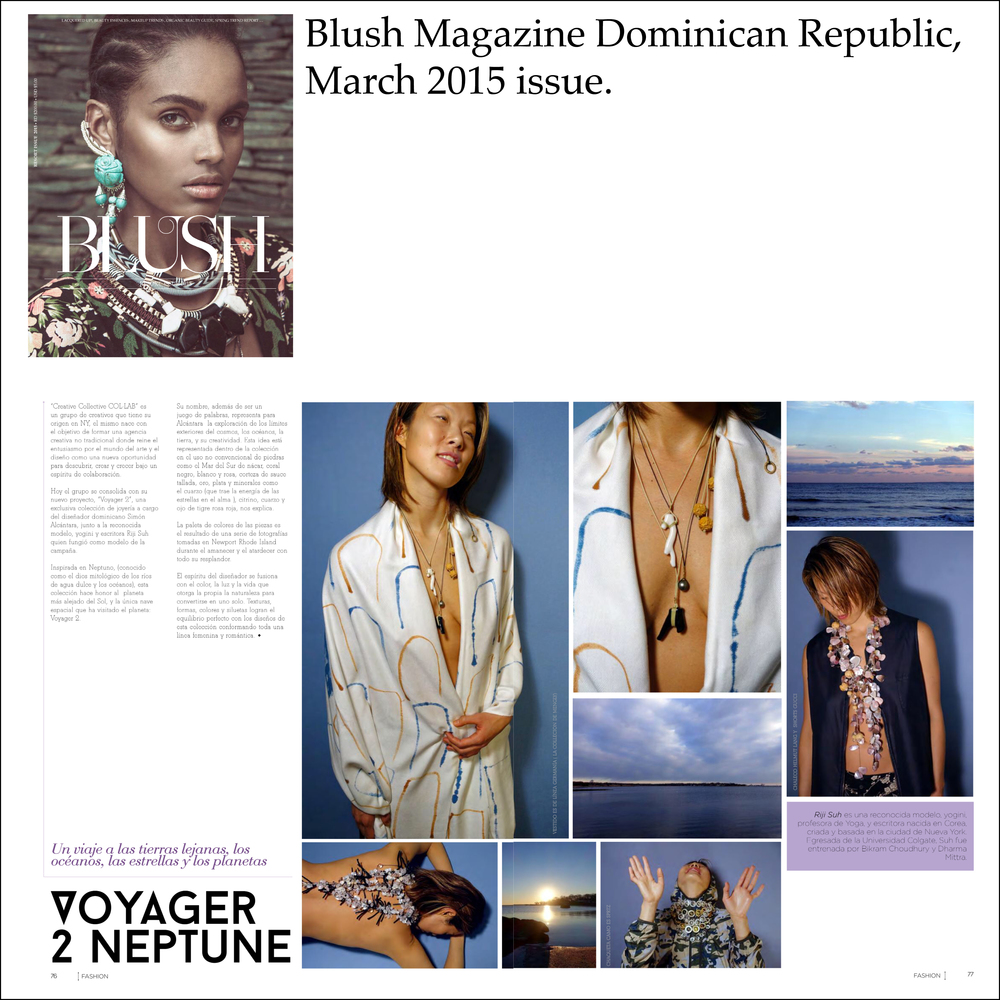 Blush Magazine March 2015 issue, Simon Alcantara, Riji Suh.jpg