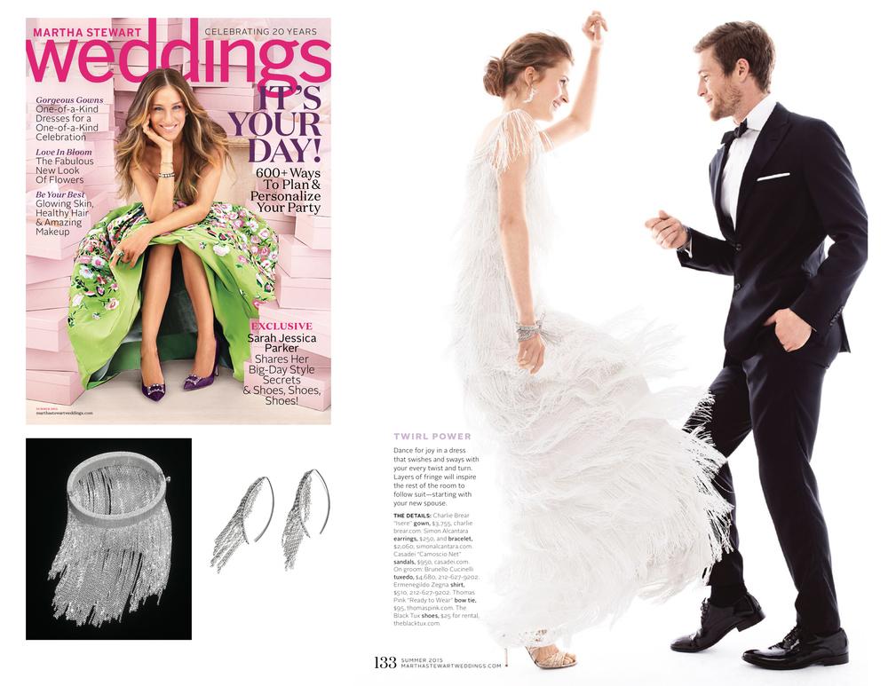 MARTHA STEWART WEDDINGS JUNE 2015 SUMMER ISSUE