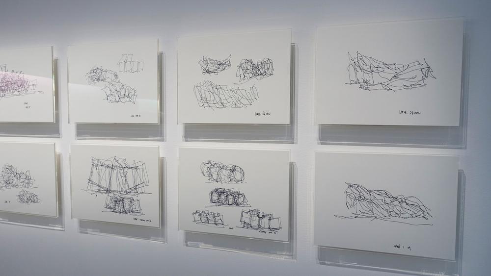 Espace Louis Vuitton Tokyo, Frank Ghery Sketches.jpg