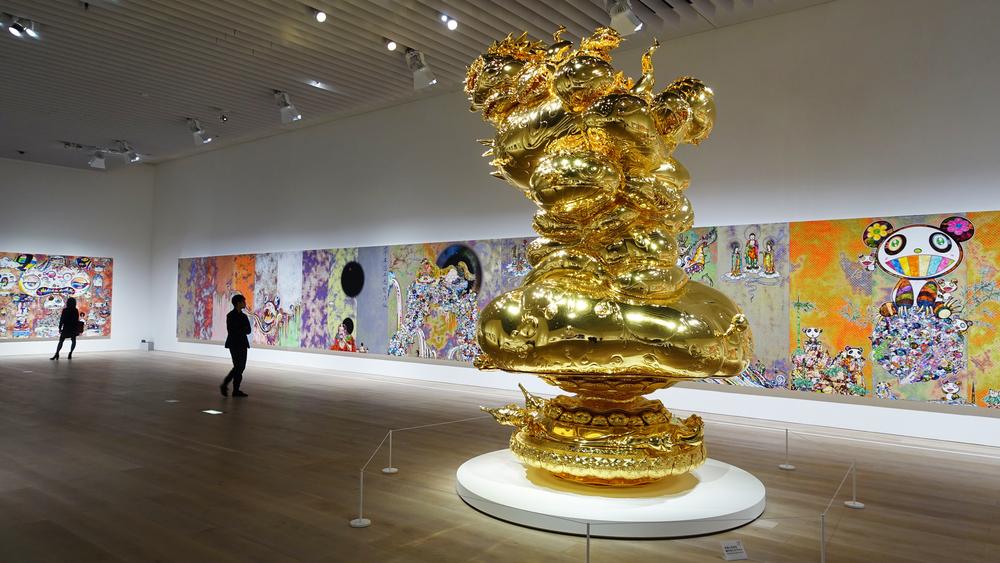 Murakami The 500 Arhats, Mori Museum Tokyo 6 .jpg