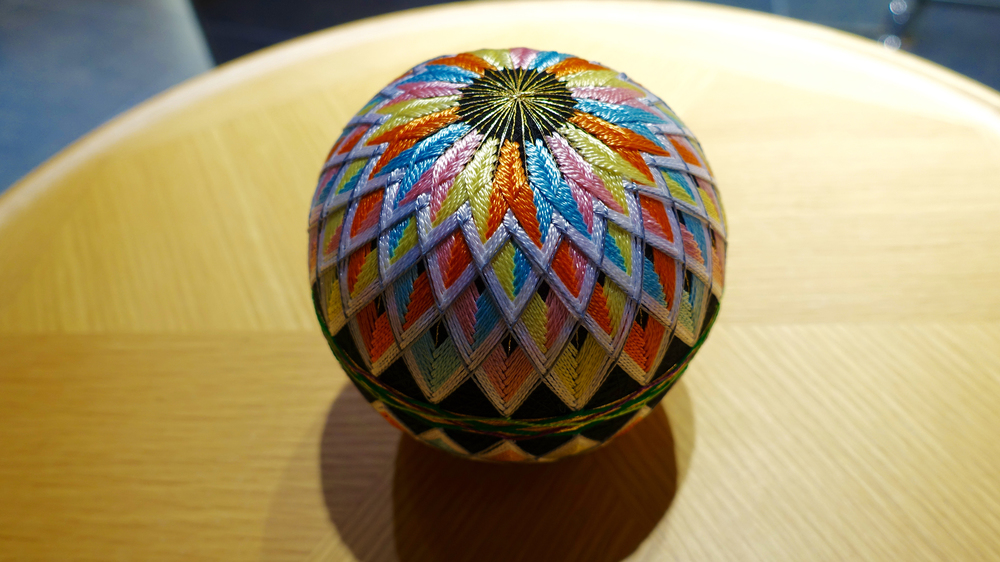 Hand crafted Temari