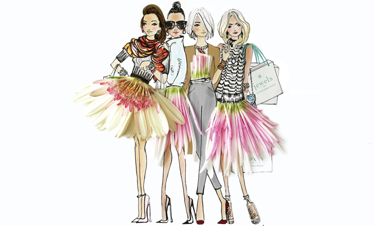 Q.将来の夢は? A.ビジネスを育てて、より多くのファッションブランドとコラボレーションしてみたい。 もちろんストラスブルゴのためにたくさんイラストを描きたいし、花についても学びたいわ。 同時に、新しい素材を作品に使うことも目標ね。 Q.ファッションとジュエリーを愛する、日本の女性たちにメッセージをお願いします。 A.日本の女性はとてもエレガントで洗練されていると思う。 私は日本女性の趣味がとても良く、ジュエリー遣いについてもとても洗練されていて、決してやりすぎにならないことをいつもすごいと思っているし、尊敬しています。