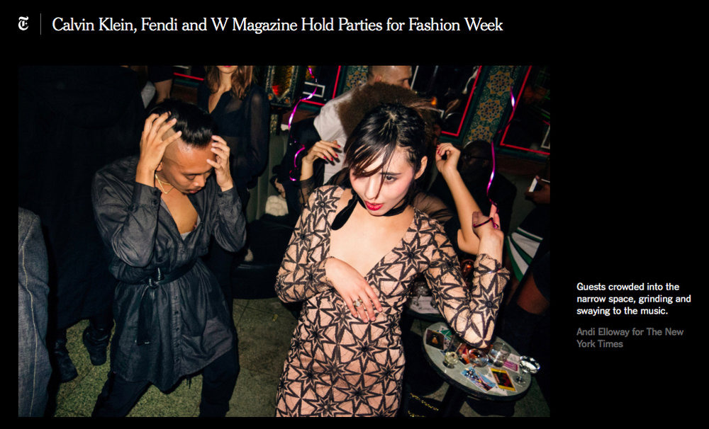 RECORDING ARTIST CHRIS GOLD WEARING SIMON ALCANTARA HELIOS LUMINIS CHOKERS AT THE W MAGAZINE PARTY FOR FIORUCCI FEB 10 2017