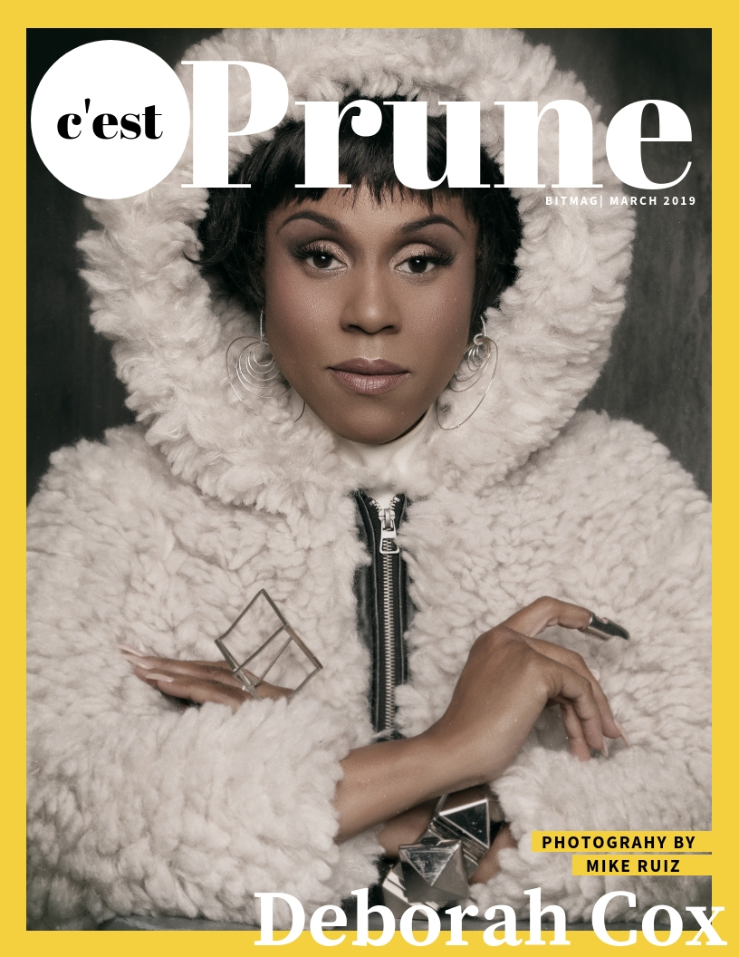 PRUNE MARCH 2019 COVER PHOTOGRAPHED BY MIKE RUIZ, STYLED BY ALISON HERNON, EARRINGS BY SIMON ALCANTARA