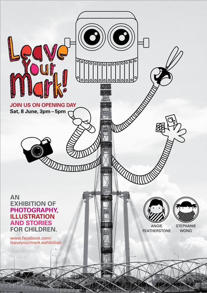 Our Singapore Flyer Robot Poster