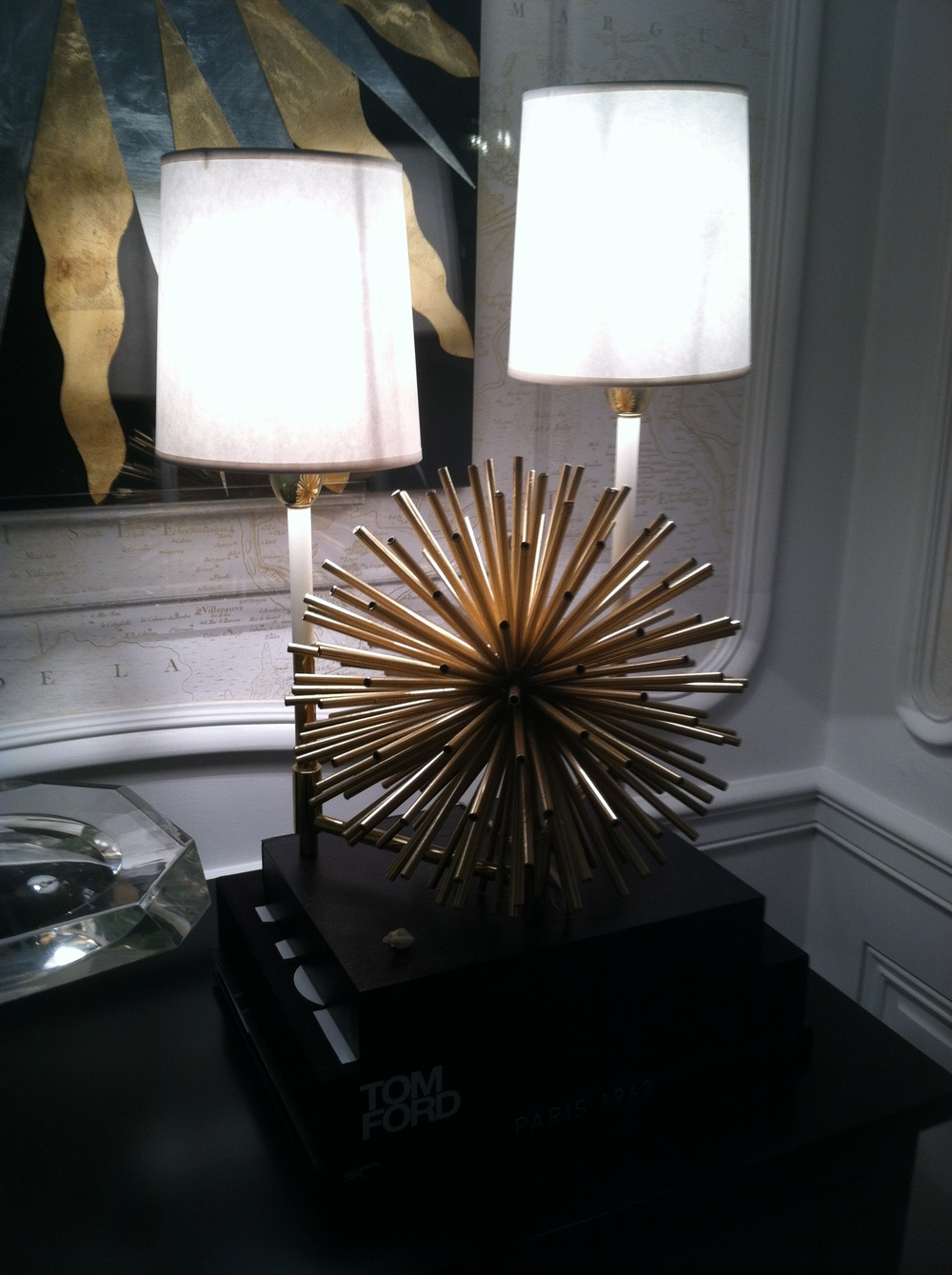we loved this lamp