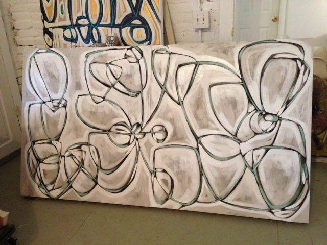 just finished in amanda's studio