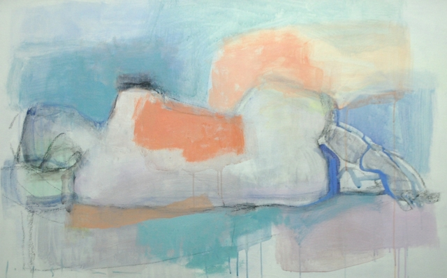 kate long stevenson untitled, reclinging nude 2015