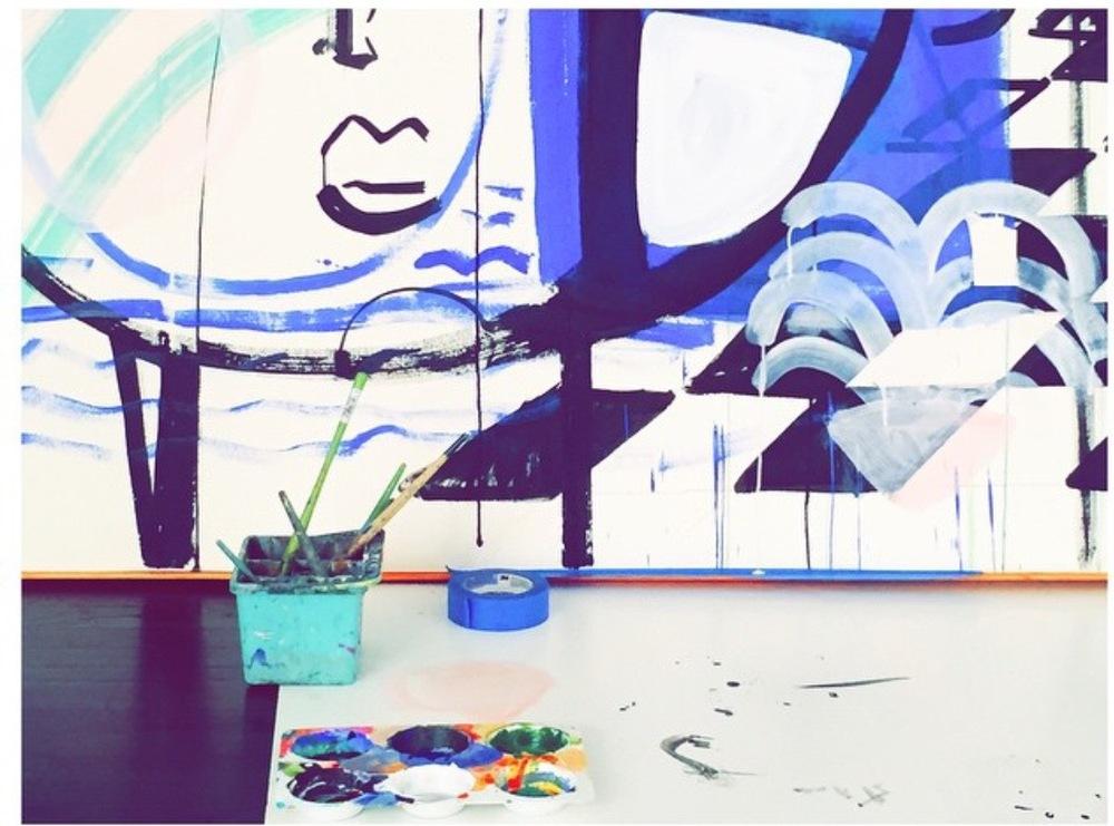 sally king bendict's studio