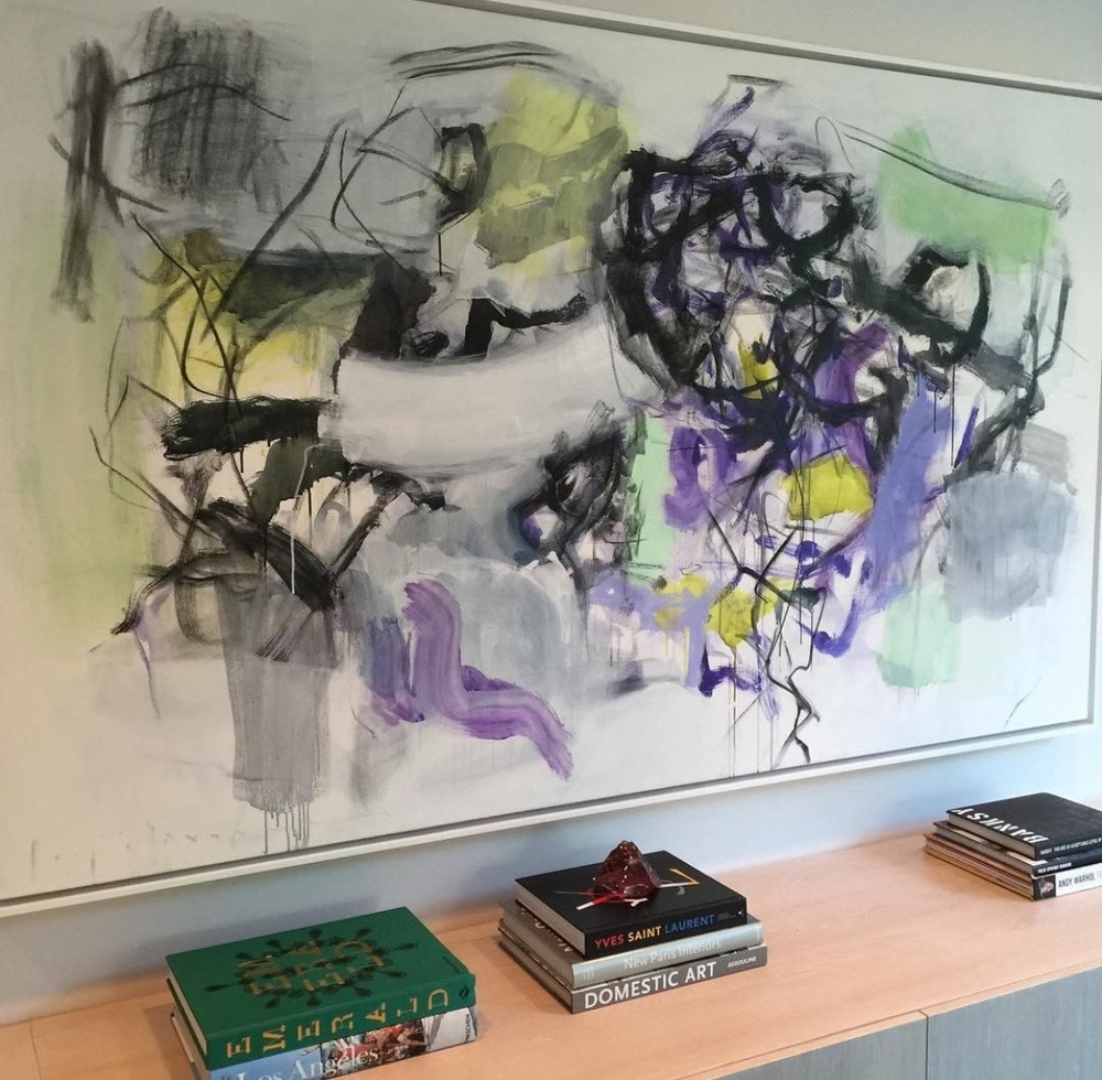 recent install of kate long stevenson painting
