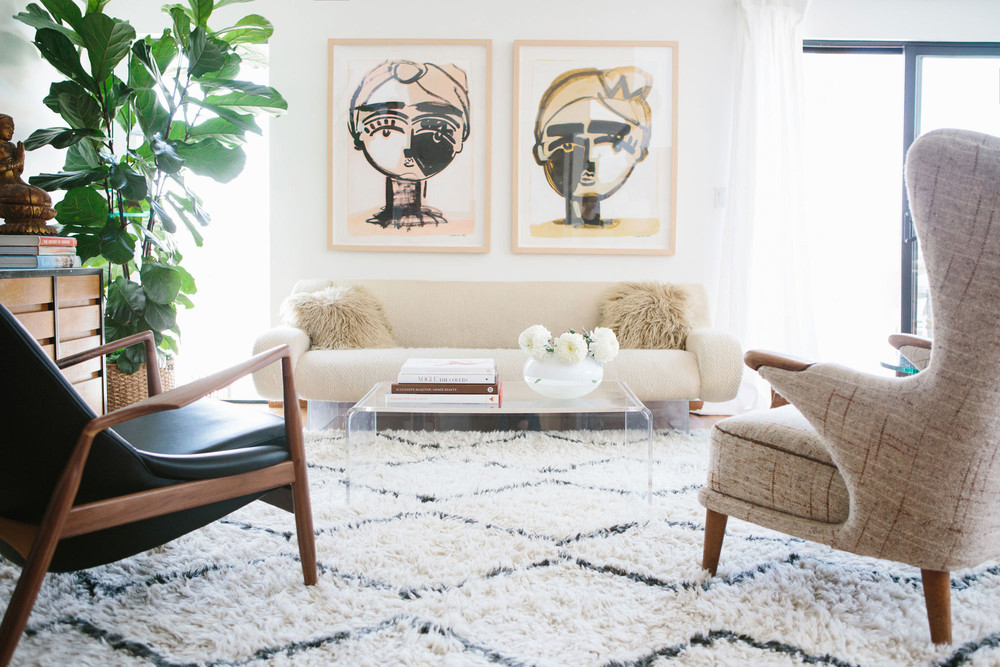 paintings by sally in marysia home in la