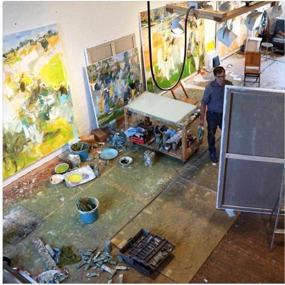 eric aho in his vermont studio