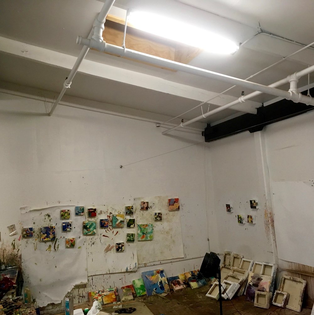 brigid watson's studio in boston
