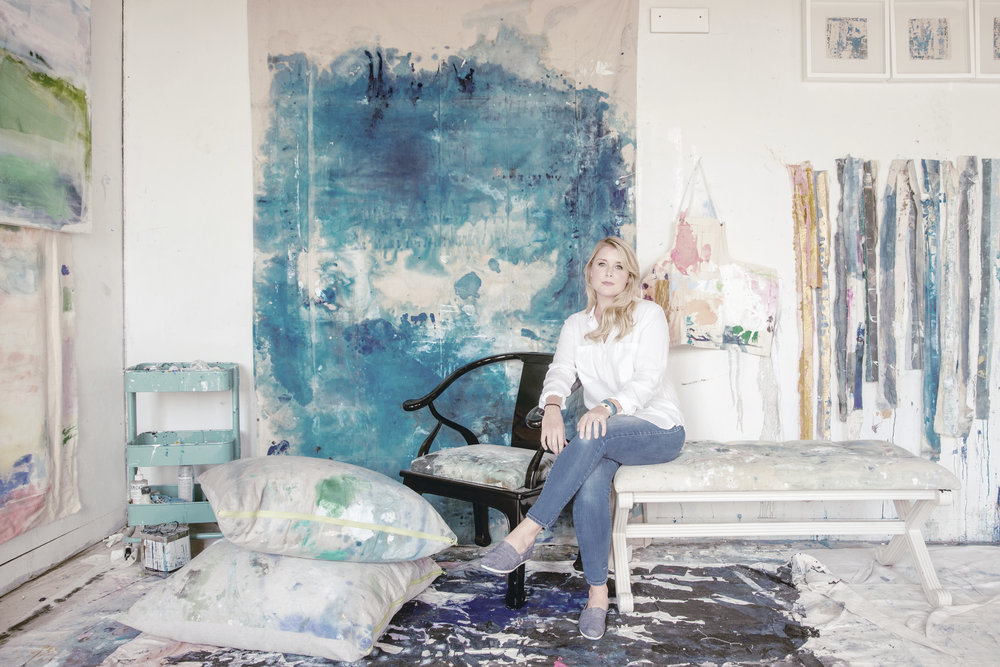 kiki slaughter in her atlanta, ga studio