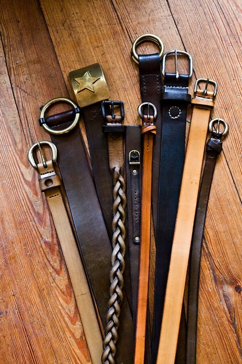 custom belts $95-$250