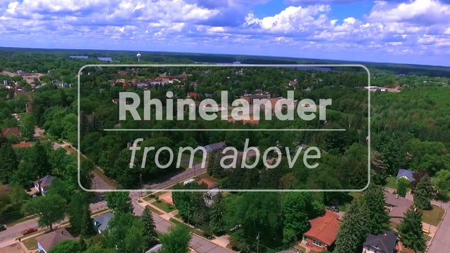 Rhinelander from Above