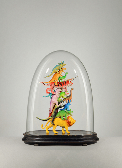 laughingsquid: Toys Under Glass