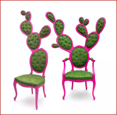 THE PRICKLY PAIR CHAIR – Faded Design