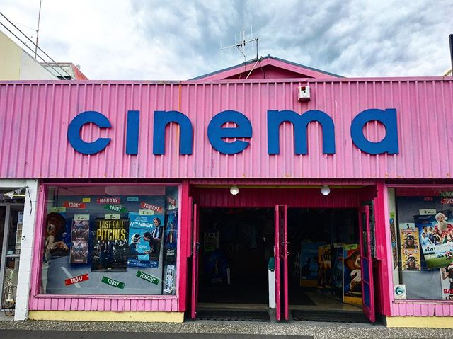 I've said it before and I'll say it again, I frickin' love small town NZ cinemas. 😍#timewarp #preach
