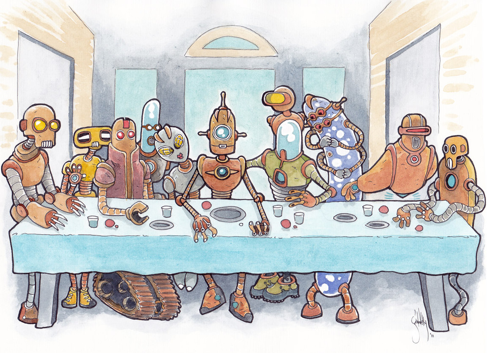 The Last (Robot) Supper.jpg