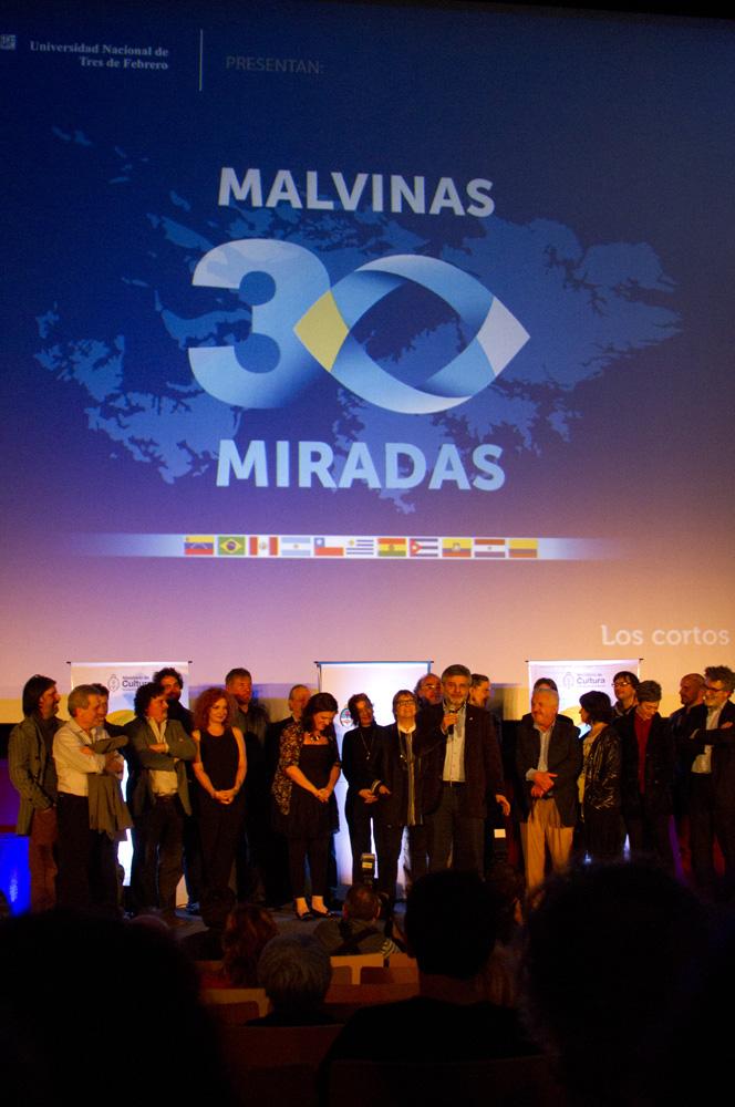 Acto de Presentación del Proyecto por autoridades del Ministerio de Cultura de la Nación y Asuntos de Malvinas.