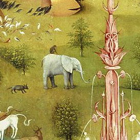 T  he Garden of Earthly Delights  [detail] - Hieronymus Bosch