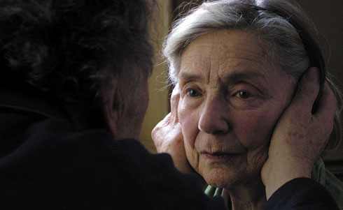 Emmanuelle Riva as Anne.Image courtesy of Artificial Eye.