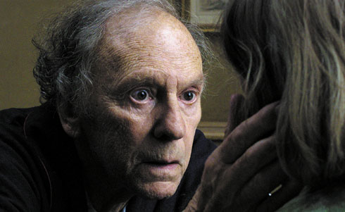 Jean-Louis Trintignant as Georges.Image courtesy of Artificial Eye.