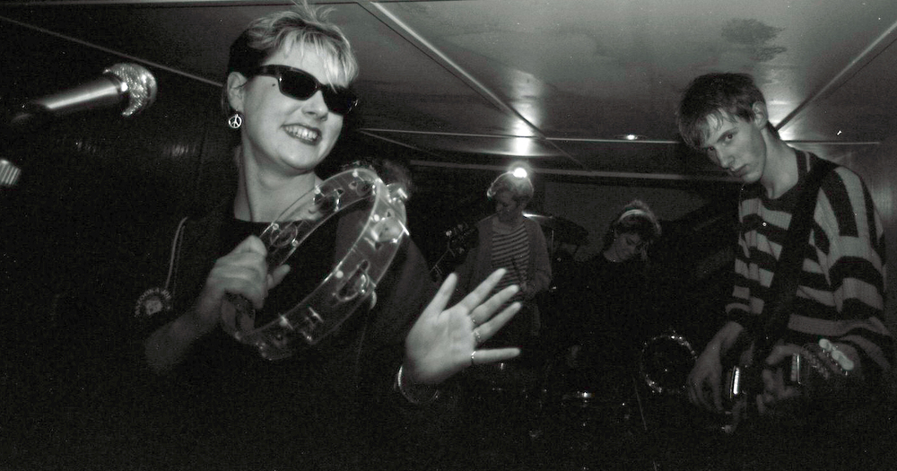The Shop Assistants, 1985. Photo by Martin Whitehead. Courtesy of Sam Knee.