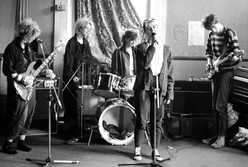 The Shop Assistants, 1985. Photo by Mark Flunder.