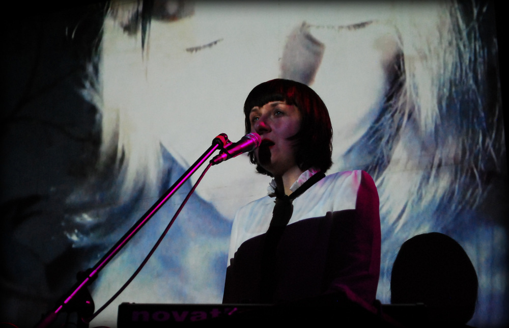 Ela Orleans, Stereo, Glasgow, 17 April 2015  . Photo by   Erika Sella.