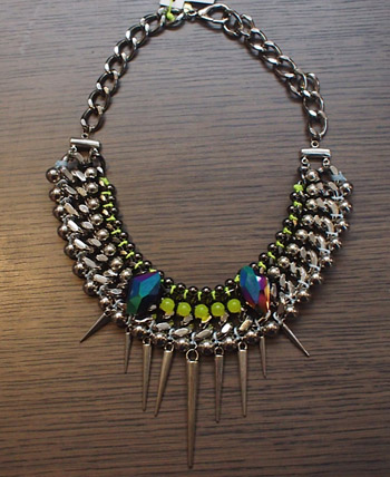Cuchara necklace $165.
