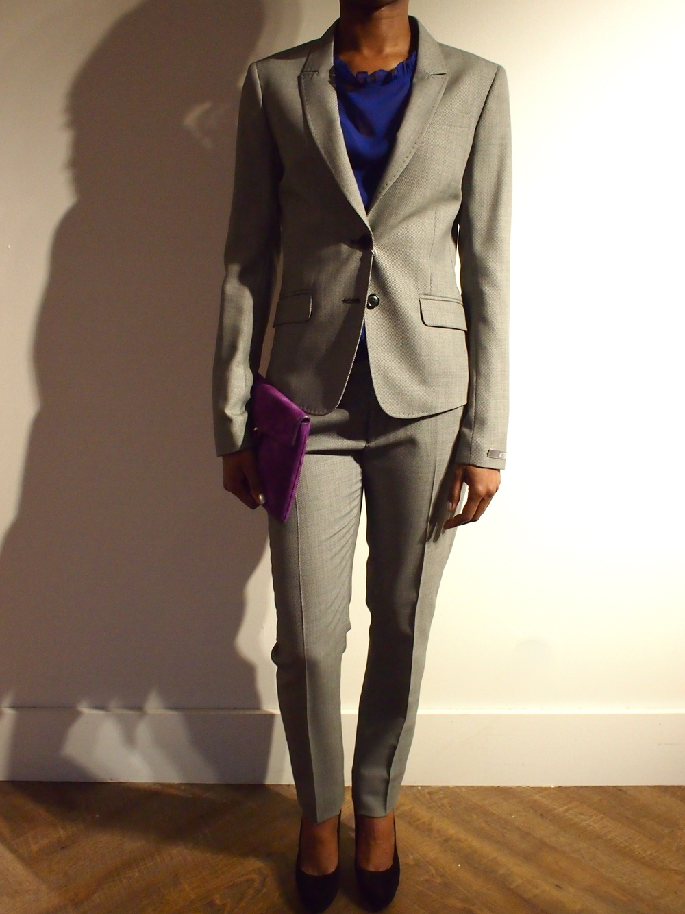Odina Blazer $399 with matching suit pant $229 by Tiger of Sweden