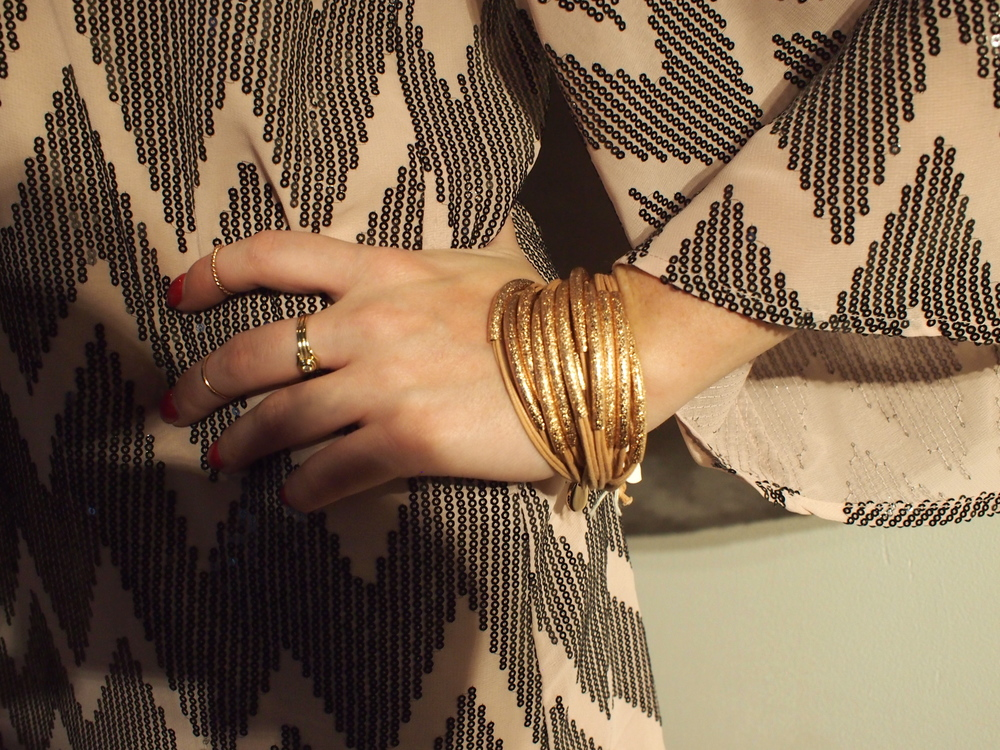 Gillian Julius - Tube Bracelet: $300