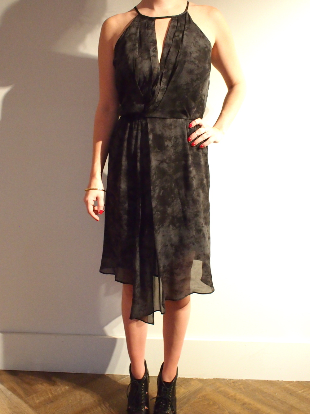Corey Lynn - AshleyAsymmetric Dress: $278