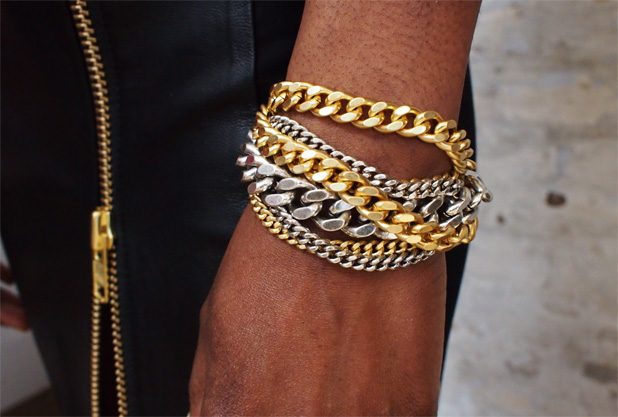 Giles & Brother multi chain bracelets $175