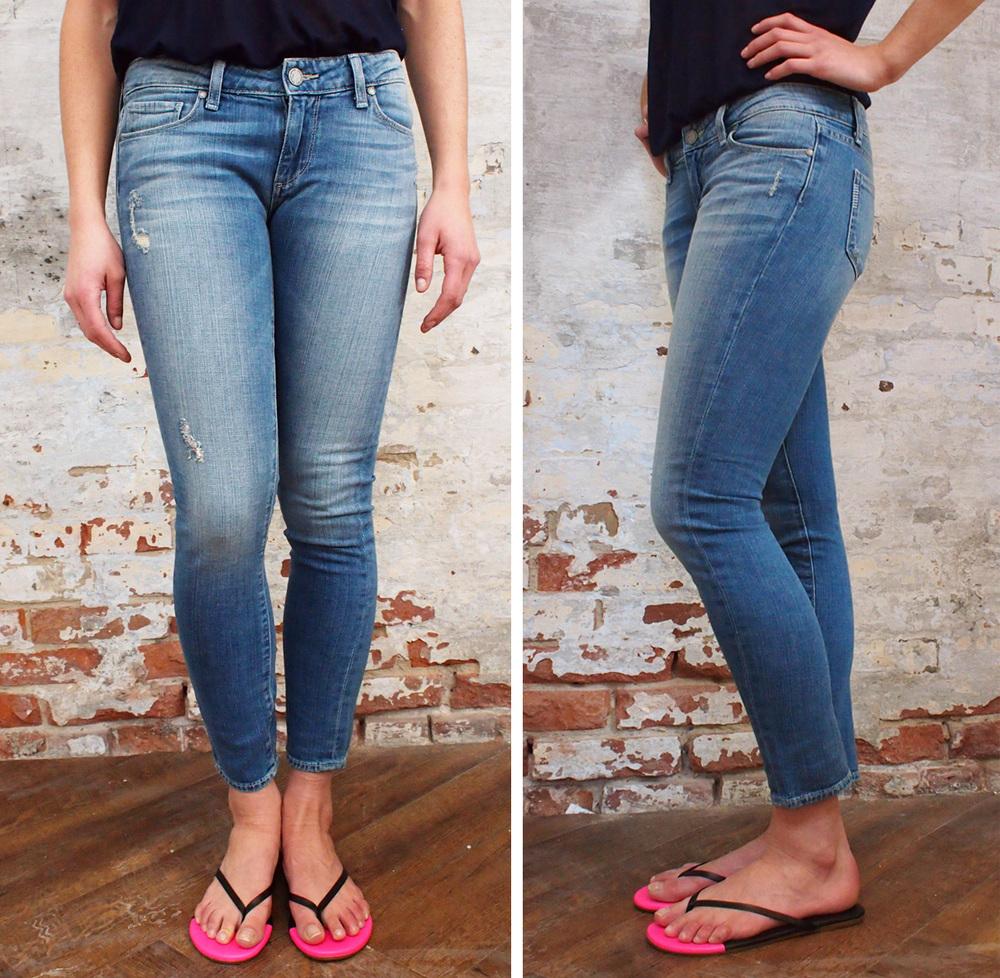 Paige Skyline peg jeans $258