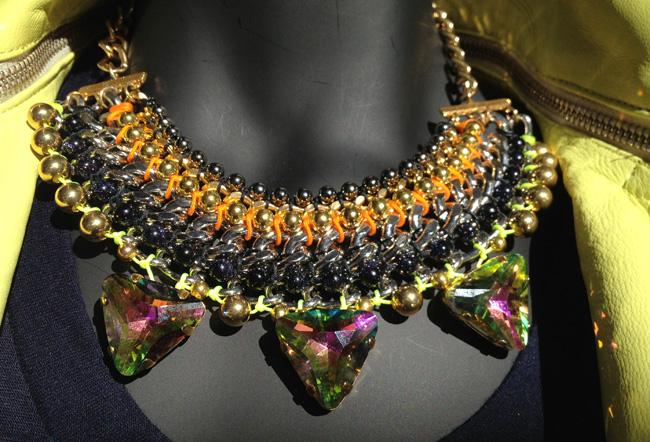 Cuchara necklace $185.