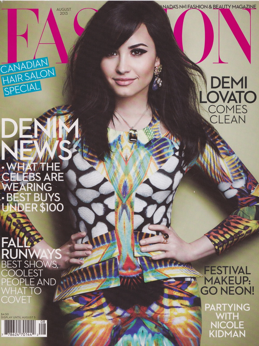 Fashion magazine on twitter
