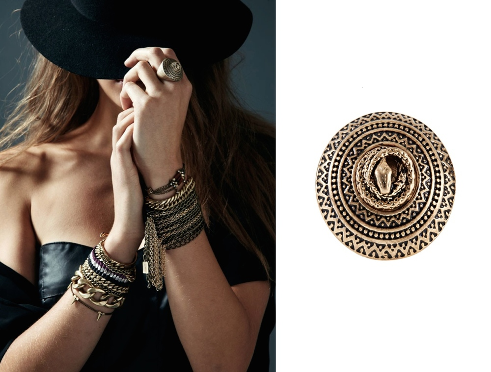Serpent Nest Ring $85