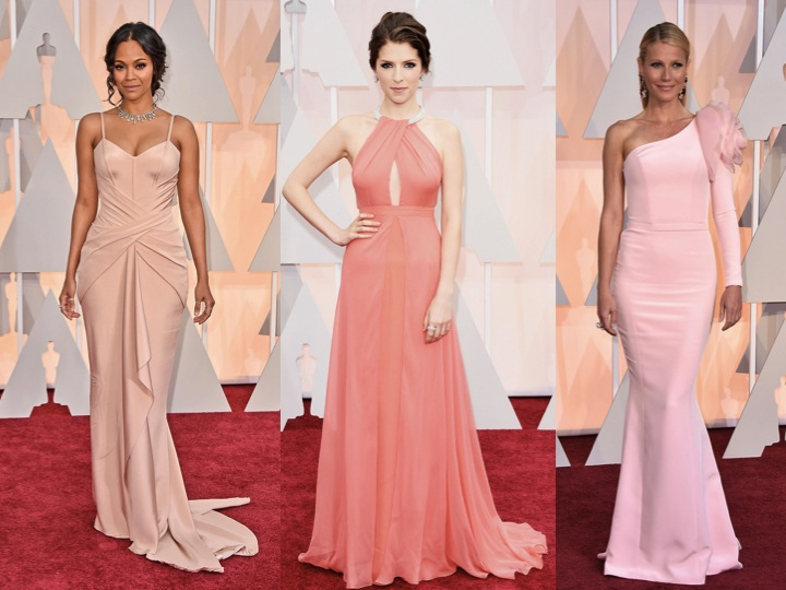 Oscars-pink-pastels-redcaroet-2015-zoe-anna-gwyneth