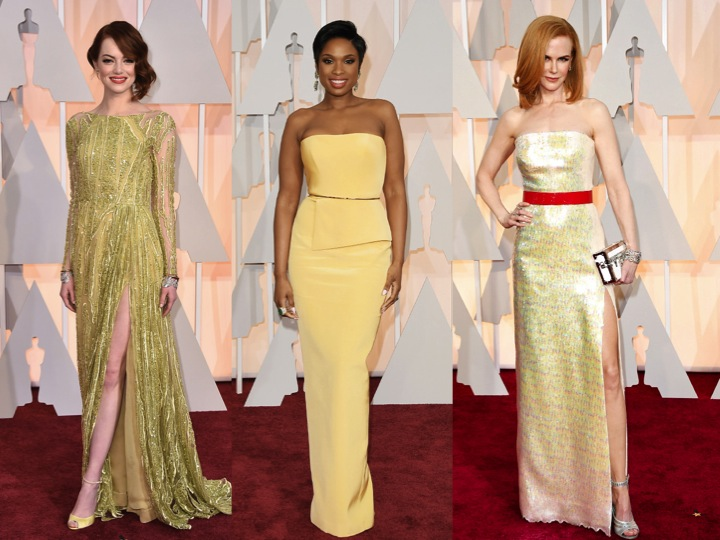 Oscars-yellow-redcarpet-2015-emma-jennifer-nicole