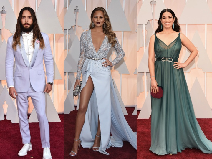Oscars-pastels-blue-redcarpet-2015-jared-chrissy-america