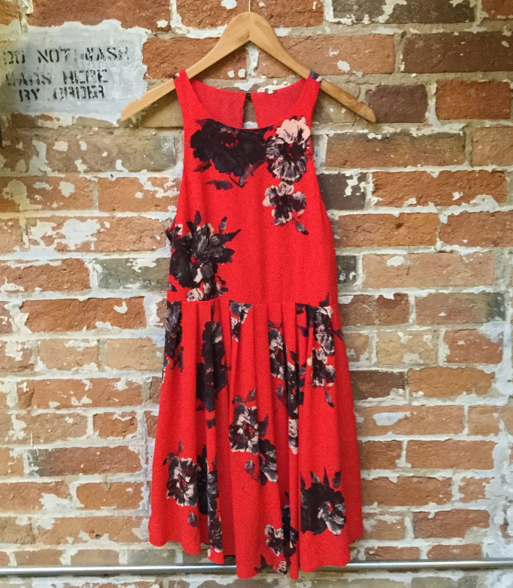 Free People Floral Dress $205