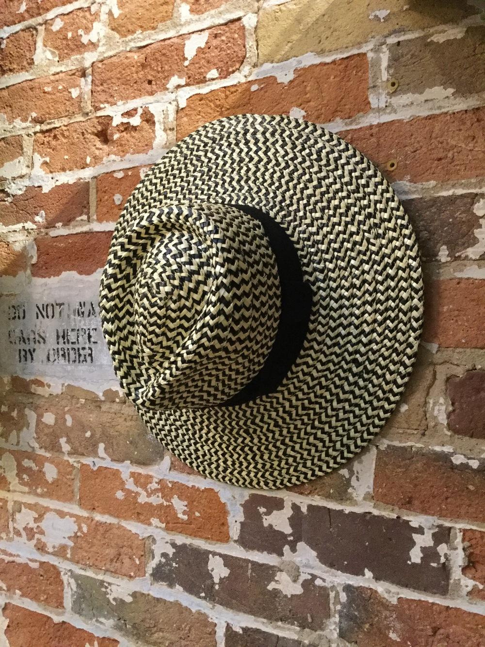 Brixton Straw Hat $80