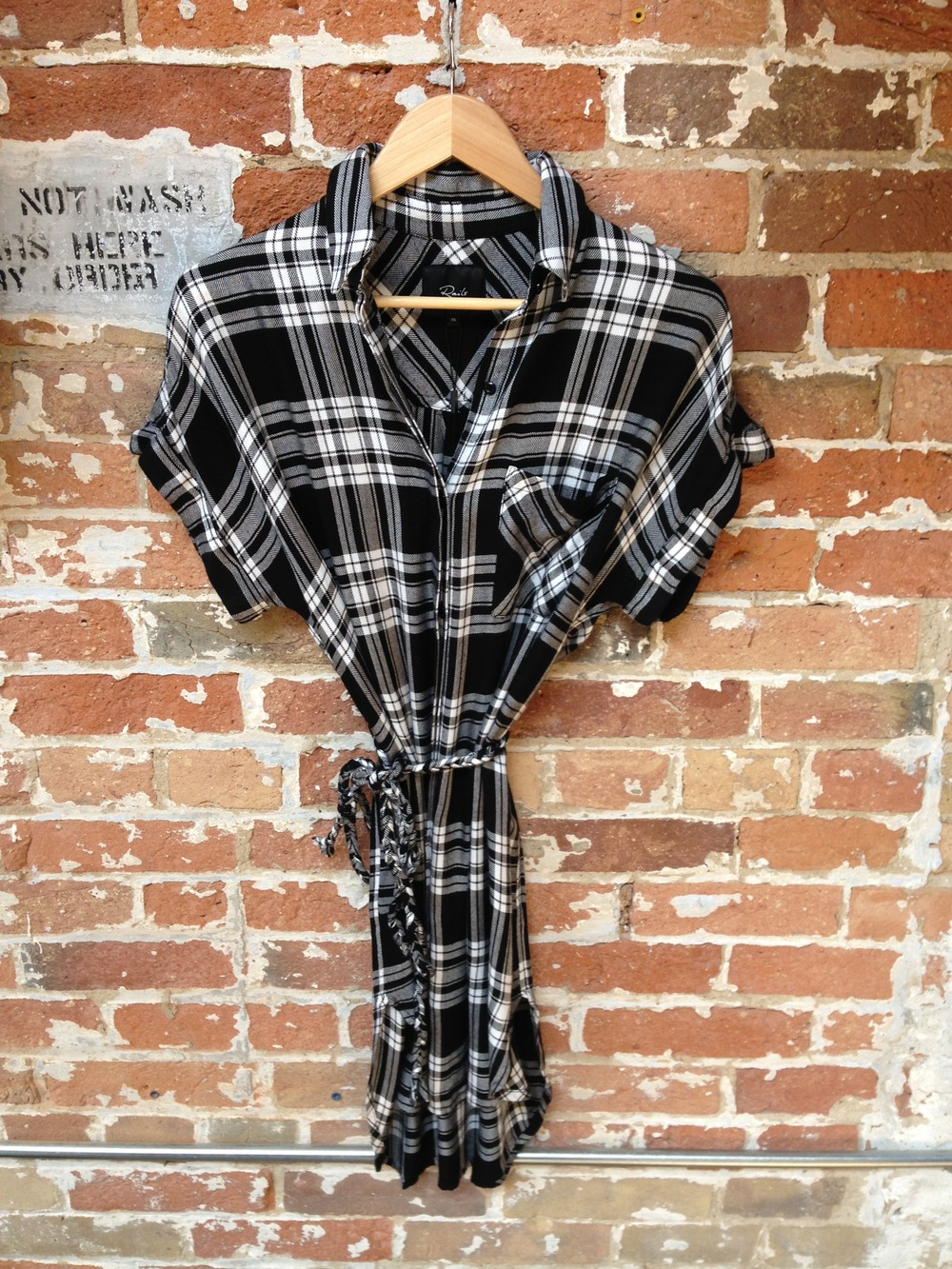 Rails Plaid Dress $242