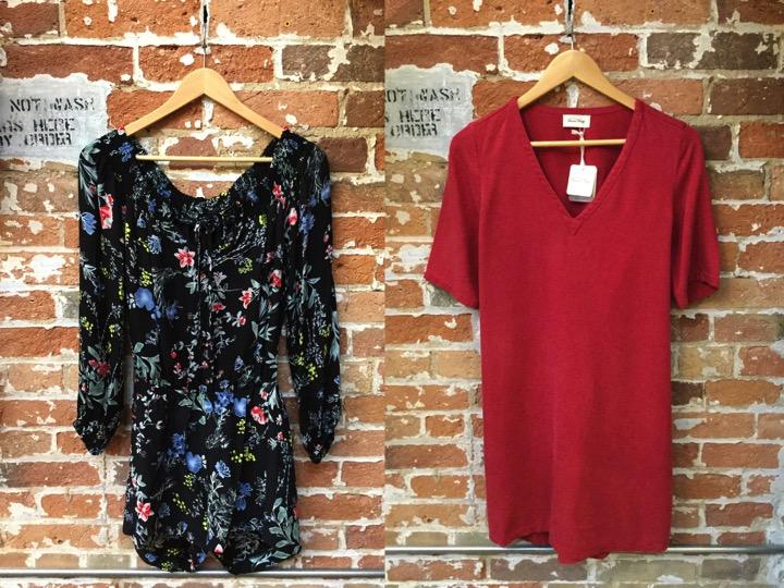 Parker Off Shoulder Romper $398 American Vintage Casual Dress $148