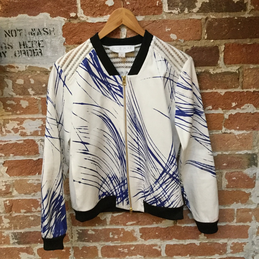 The Brooklyn Bomber $545 Specially cut for Gotstyle Woman, this bomber goes with anything and everything! It's time to own a piece of fashion history